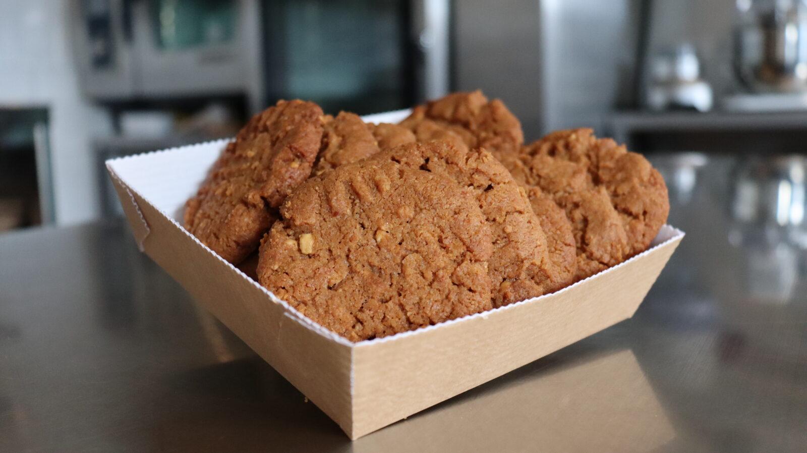 Pindakaas koekjes glutenvrij